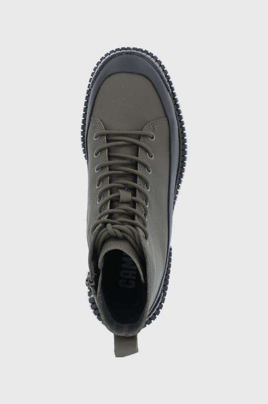 πράσινο Camper - Δερμάτινα παπούτσια Pix