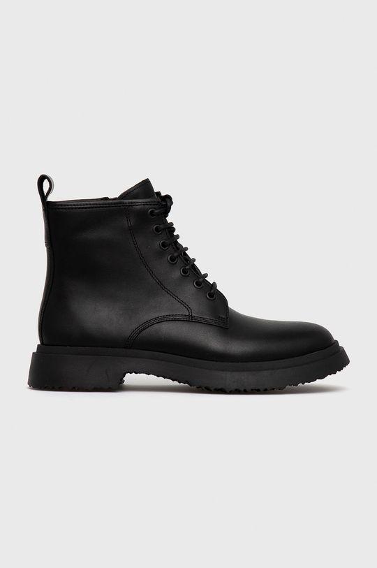 černá Camper - Kožené boty Walden Pánský