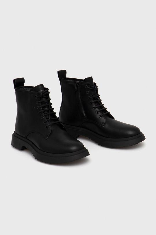 Camper - Kožené boty Walden černá