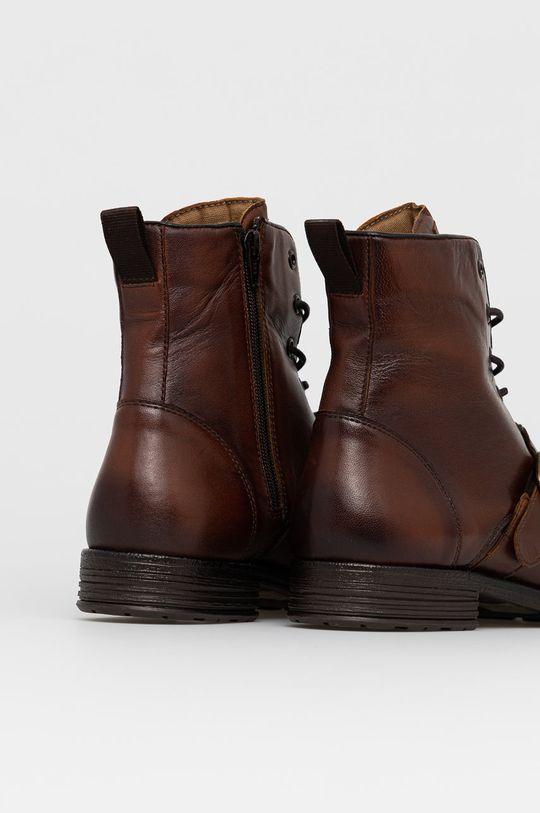 Aldo - Kožené boty Merad  Svršek: Přírodní kůže Vnitřek: Textilní materiál, Přírodní kůže Podrážka: Umělá hmota