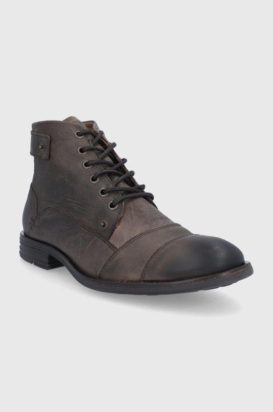 Aldo - Kotníkové boty LEGADORIEN hnědá
