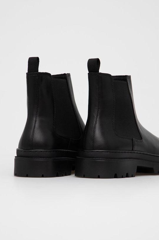 Aldo - Kožené kotníkové boty Alencia  Svršek: Přírodní kůže Vnitřek: Umělá hmota, Textilní materiál Podrážka: Umělá hmota