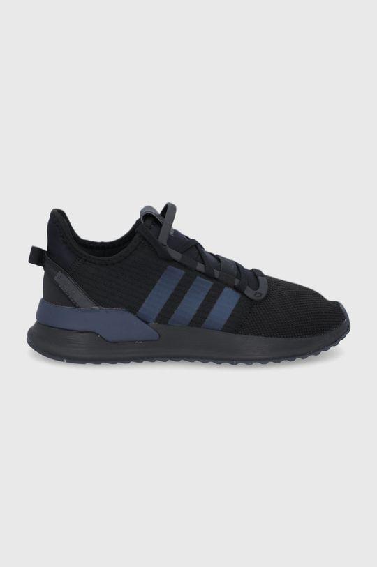 czarny adidas Originals - Buty U_PATH RUN Męski