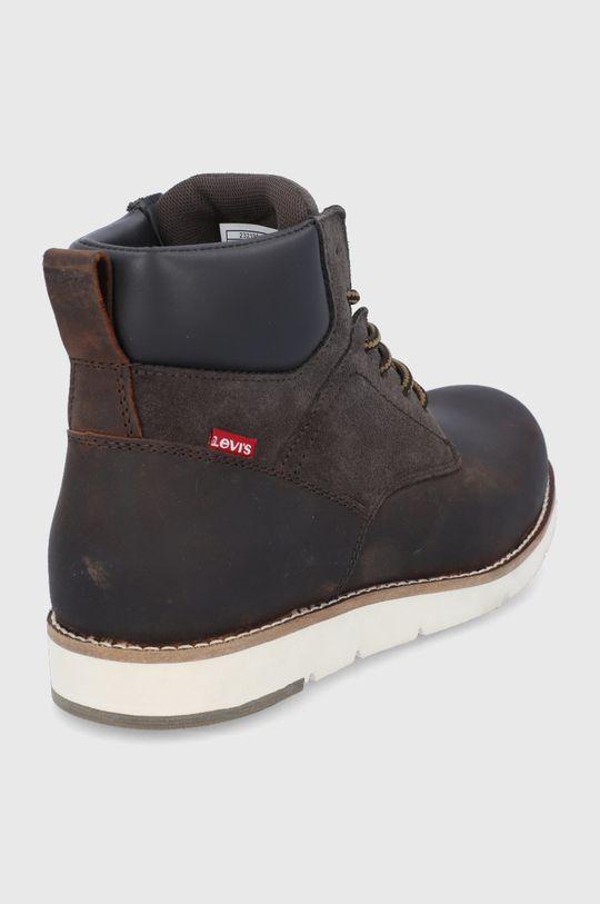 Levi's - Kožené boty  Svršek: Přírodní kůže, Semišová kůže Vnitřek: Textilní materiál Podrážka: Umělá hmota