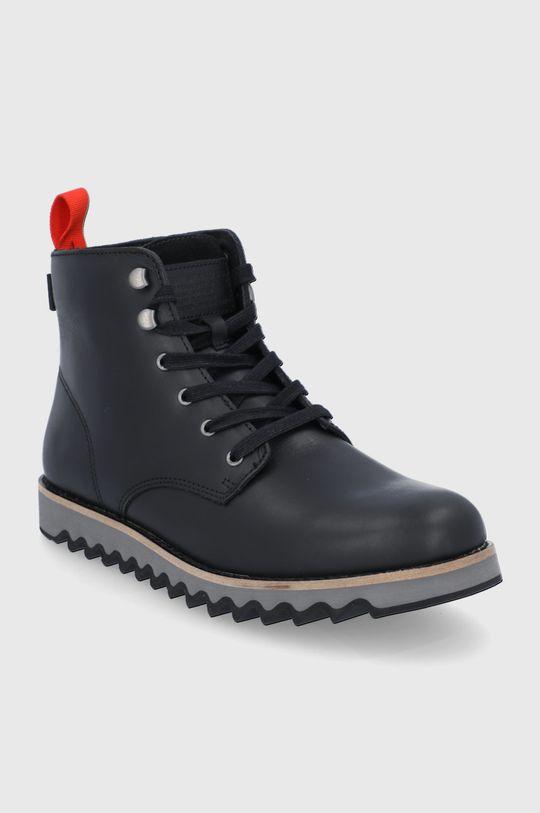 Levi's - Kožené boty černá