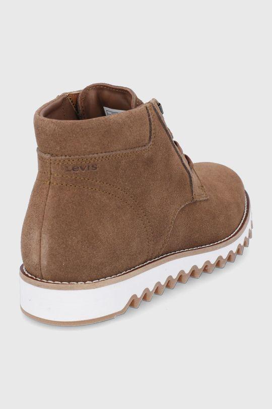 Levi's - Semišové boty  Svršek: Semišová kůže Vnitřek: Textilní materiál, Přírodní kůže Podrážka: Umělá hmota