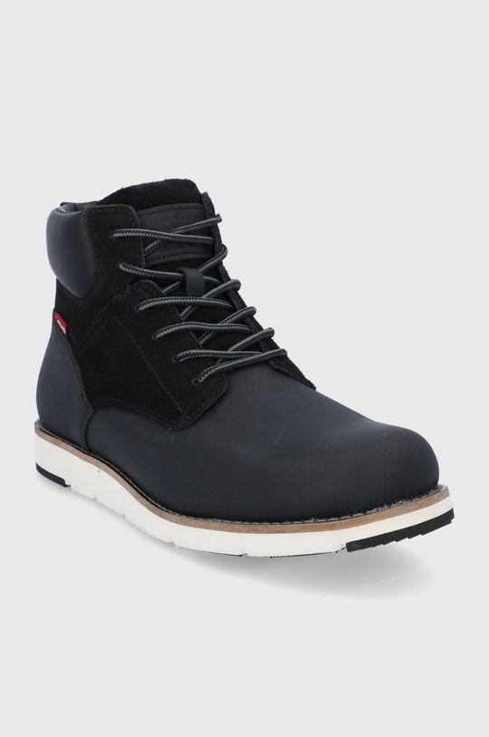 Levi's - Kotníkové boty černá