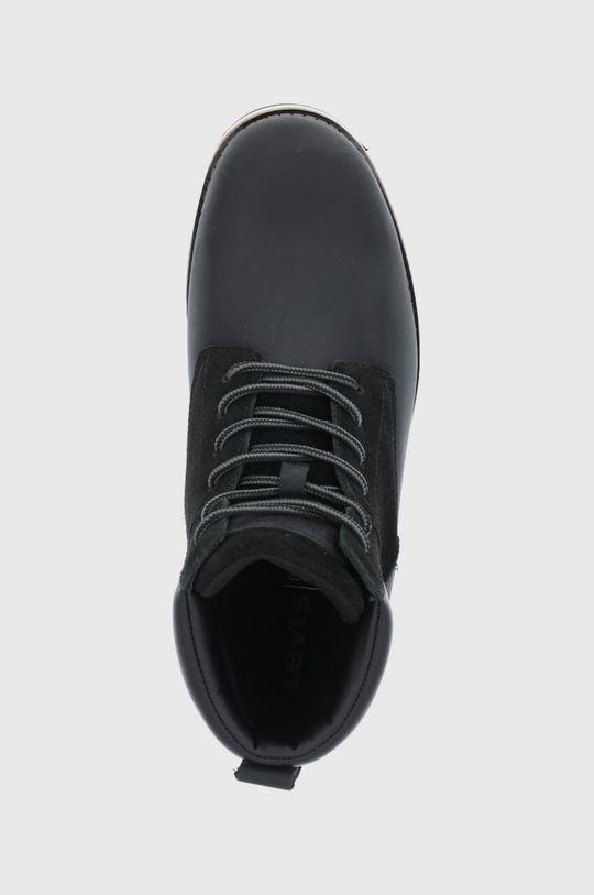 černá Levi's - Kotníkové boty