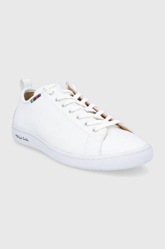 PS Paul Smith - Kožená obuv Miyata biela