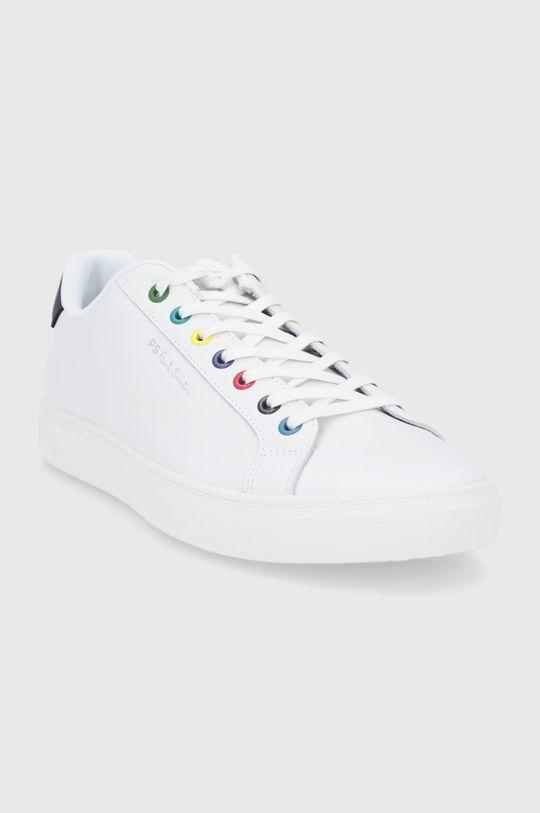 PS Paul Smith - Buty skórzane Rex biały
