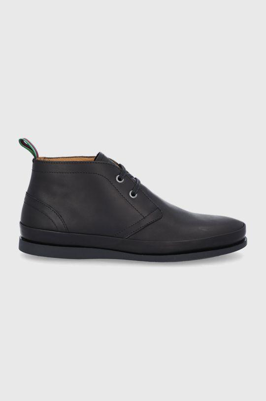čierna PS Paul Smith - Kožené topánky Cleon Pánsky