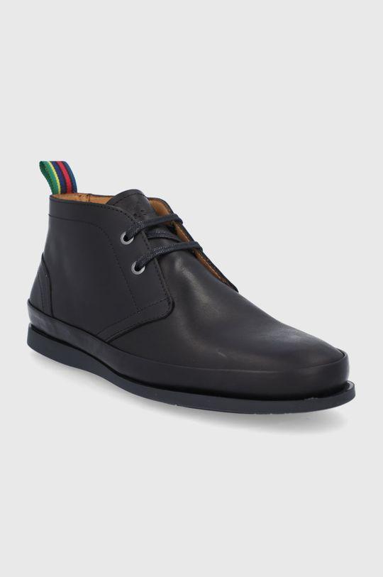 PS Paul Smith - Kožené topánky Cleon čierna