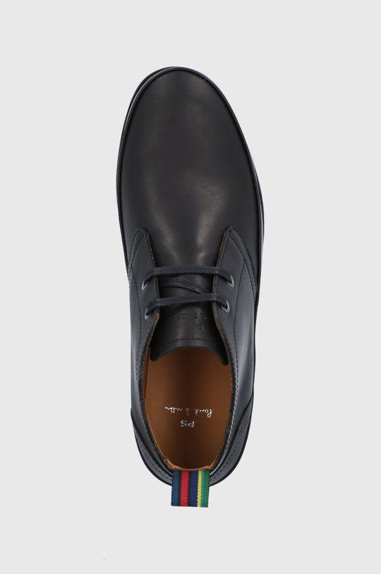 čierna PS Paul Smith - Kožené topánky Cleon