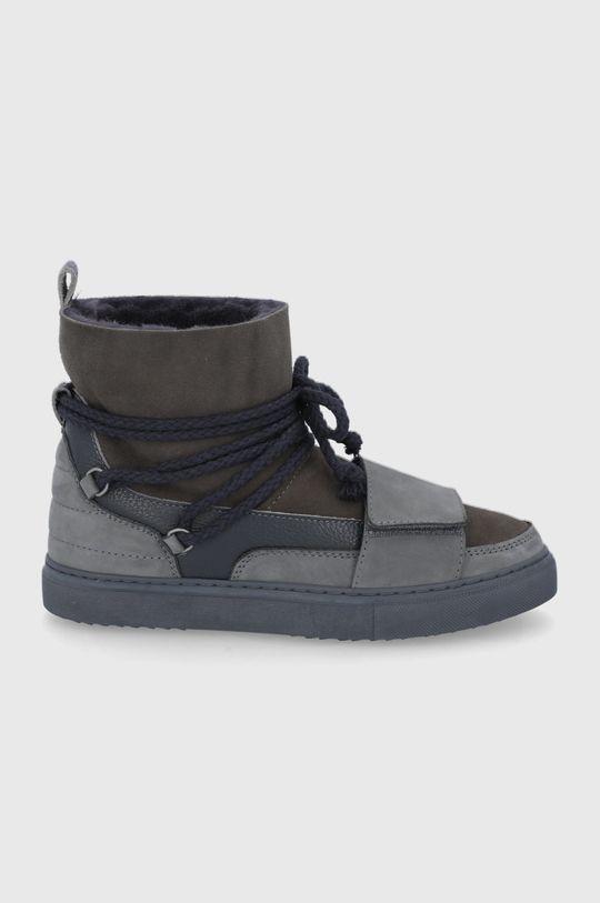 sivá Inuikii - Členkové topánky Pánsky