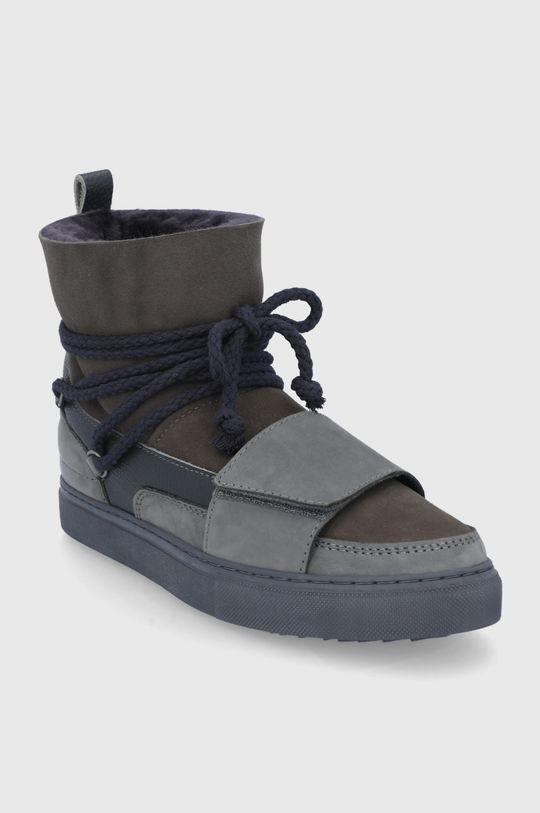 Inuikii - Členkové topánky sivá