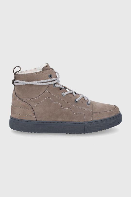 μπεζ Inuikii - Σουέτ παπούτσια Ανδρικά