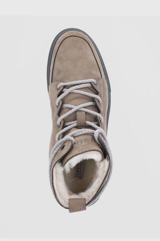 μπεζ Inuikii - Σουέτ παπούτσια