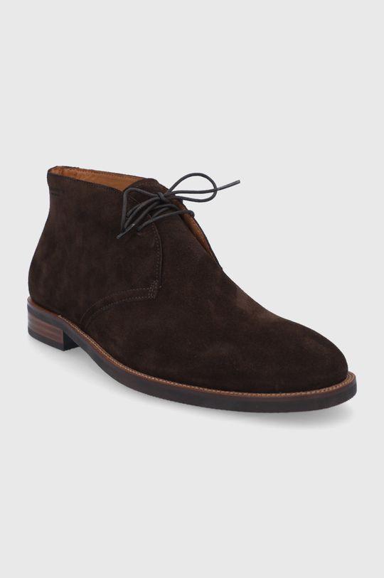 Vagabond - Buty zamszowe Percy brązowy