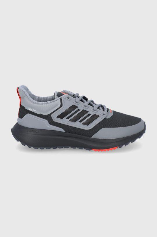 šedá adidas - Boty EQ21 Run Cold Pánský