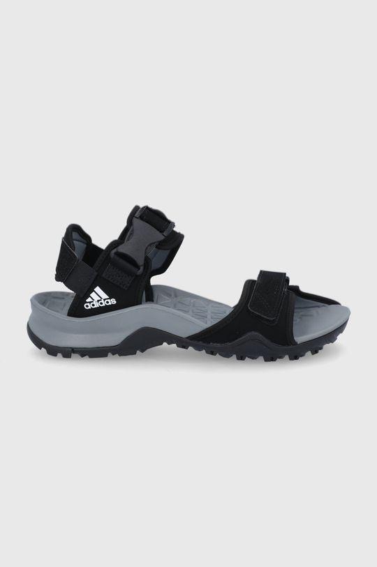 czarny adidas Performance - Sandały Cyprex Ultra Męski