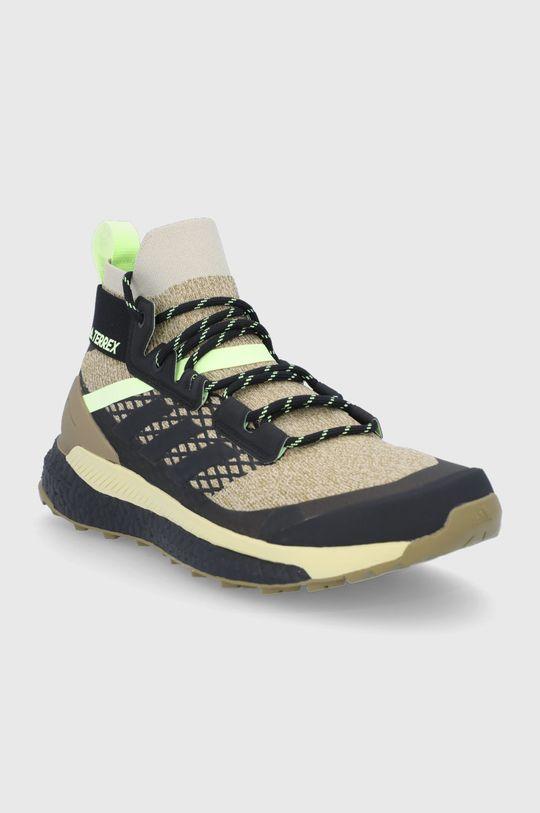 adidas Performance - Buty Terrex Free Hiker Primeblu beżowy