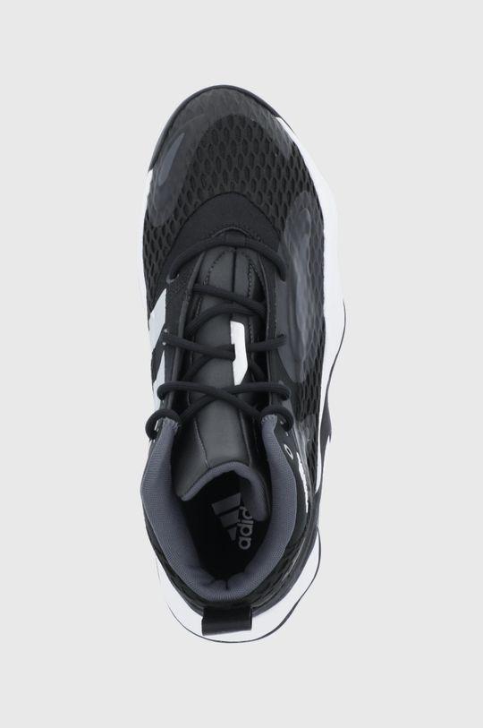 μαύρο adidas Performance - Υποδήματα Exhibit A Mid