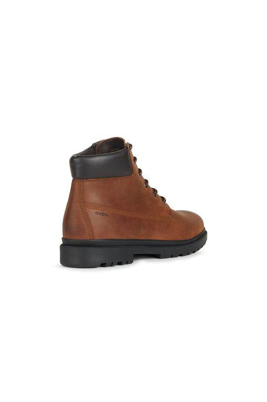 brązowy Geox - Buty skórzane