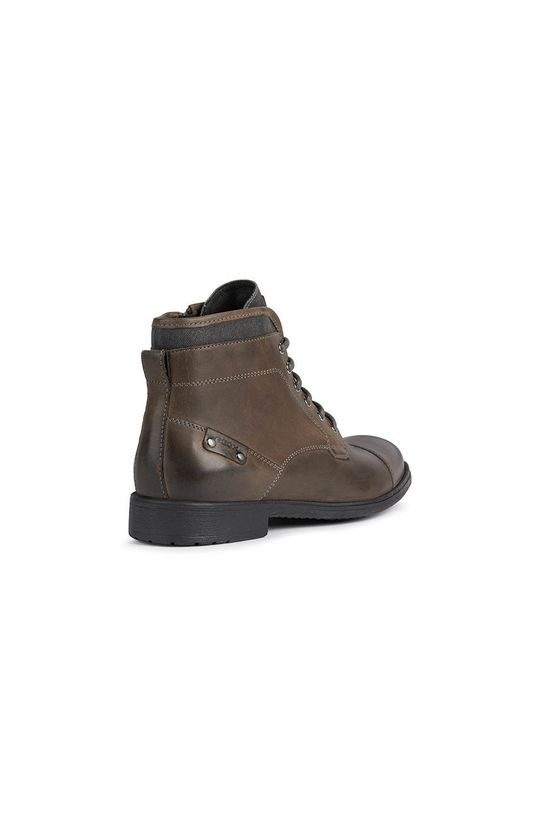 ciemny brązowy Geox - Buty skórzane
