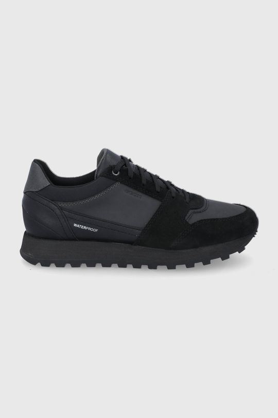 negru Geox - Pantofi De bărbați