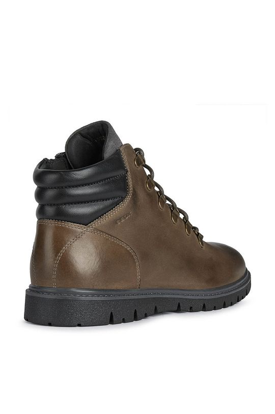 καφέ Geox - Δερμάτινα παπούτσια