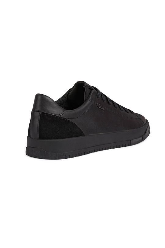 negru Geox - Pantofi de piele