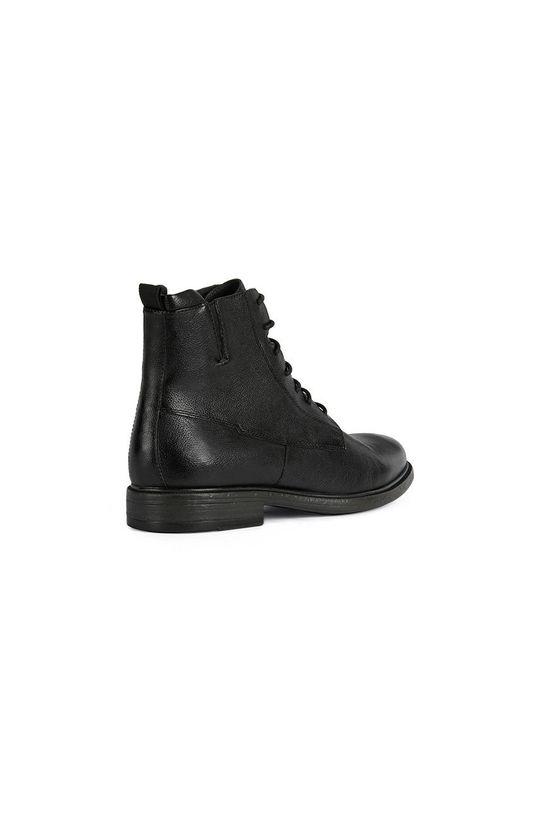 čierna Geox - Kožené topánky