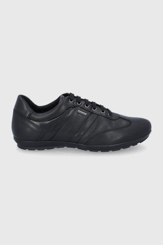 negru Geox - Pantofi de piele De bărbați