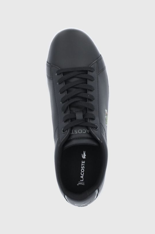 czarny Lacoste - Buty skórzane Carnaby