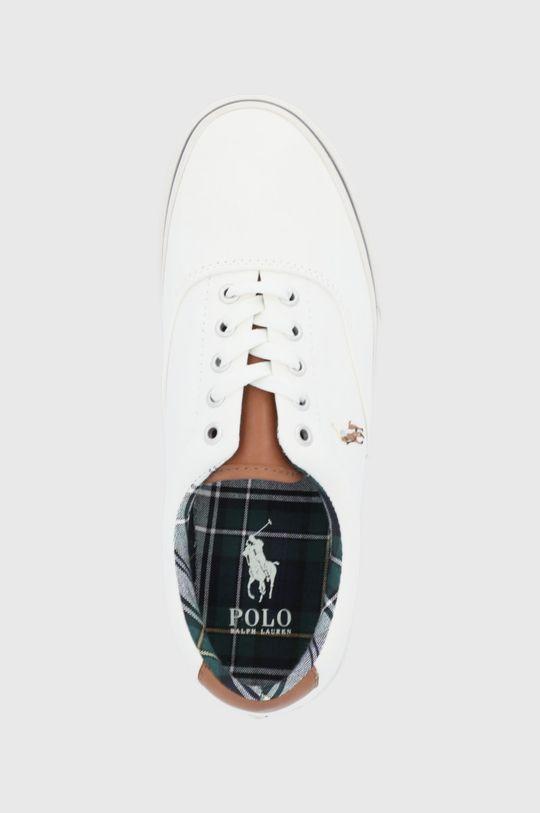 biały Polo Ralph Lauren - Tenisówki