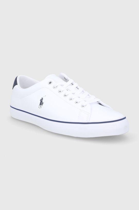 Polo Ralph Lauren - Buty skórzane biały