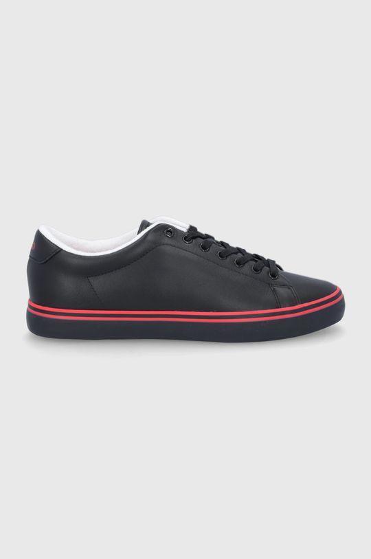 czarny Polo Ralph Lauren - Buty skórzane Męski
