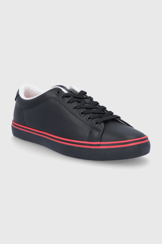 Polo Ralph Lauren - Buty skórzane czarny