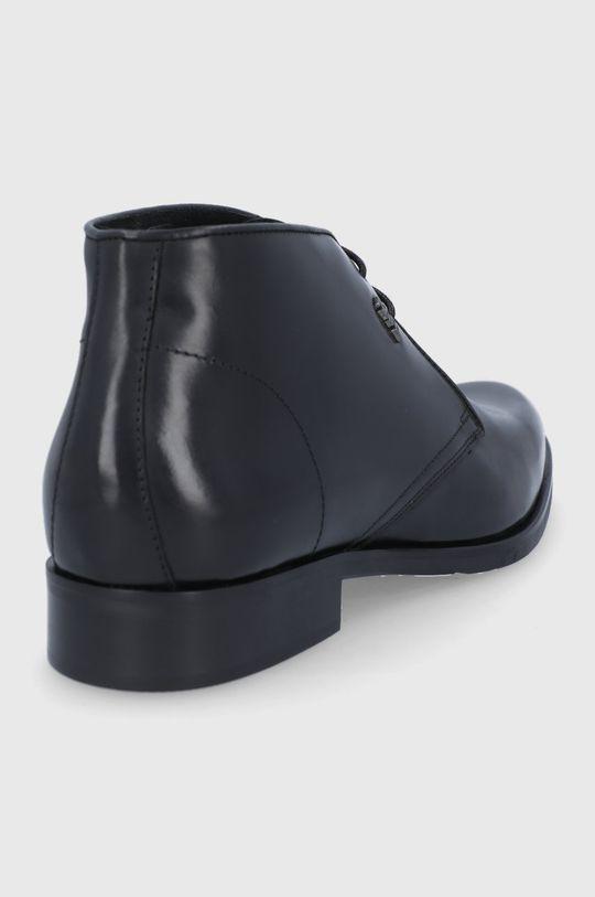 Karl Lagerfeld - Buty skórzane Cholewka: Skóra naturalna, Wnętrze: Materiał tekstylny, Skóra naturalna, Podeszwa: Materiał syntetyczny