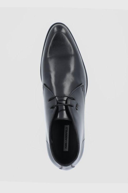 czarny Karl Lagerfeld - Buty skórzane