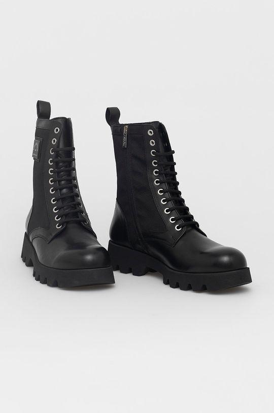 Karl Lagerfeld - Trzewiki czarny