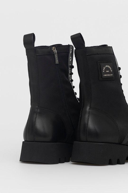 Karl Lagerfeld - Trzewiki Cholewka: Materiał tekstylny, Skóra, Wnętrze: Skóra, Podeszwa: Materiał syntetyczny