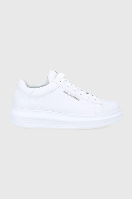 biały Karl Lagerfeld - Buty Męski