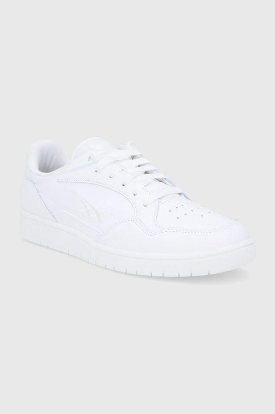 Asics - Buty skórzane Skycourt biały