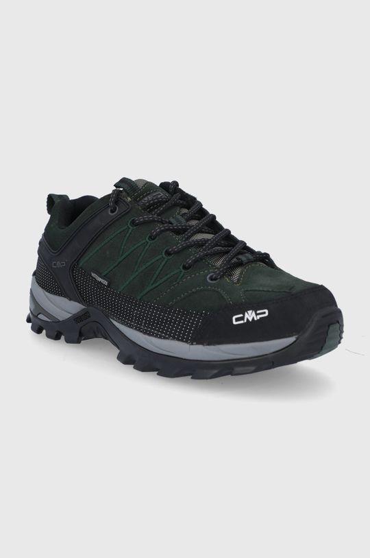 CMP - Buty Rigel Low Trekking ciemny zielony