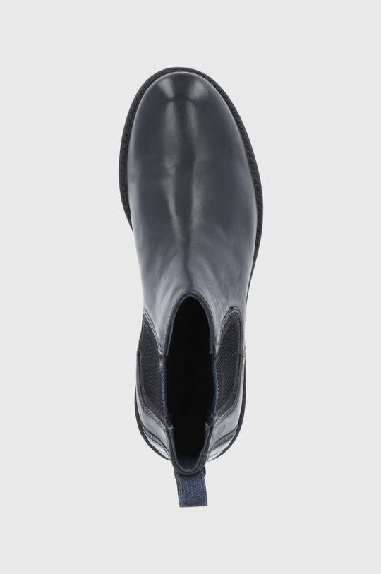 czarny Wrangler - Sztyblety skórzane