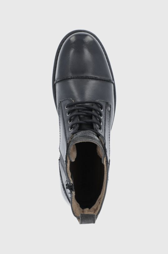 czarny Wrangler - Buty skórzane