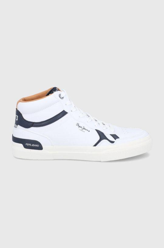biały Pepe Jeans - Buty Kenton Britt Boot Męski