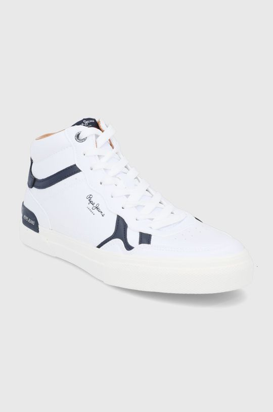 Pepe Jeans - Buty Kenton Britt Boot biały
