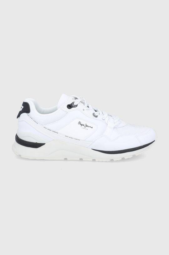 biały Pepe Jeans - Buty X20 Męski
